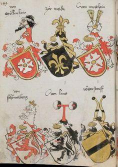 Wappenbuch des St. Galler Abtes Ulrich Rösch Heidelberg · 15. Jahrhundert Cod. Sang. 1084  Folio 249