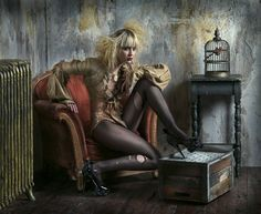 Theatrical Fashion Photographs by August Bradley