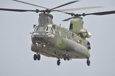 CANADA'S NEW CH-147F CHINOOK HELICOPTER