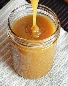 {Homemade} Caramel Sauce