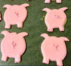 Sugar Cookie Pig Tails