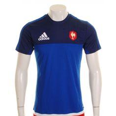 428b9960b6362 France 2015 - Tshirt de Rugby de Performance des Joueurs - taille XL Osprey  Rugby,