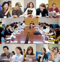 Han Ye Seul, Joo Sang Wook, and more take part in first script reading for 'Birth of a Beauty' | http://www.allkpop.com/article/2014/10/han-ye-seul-joo-sang-wook-and-more-take-part-in-first-script-reading-for-birth-of-a-beauty