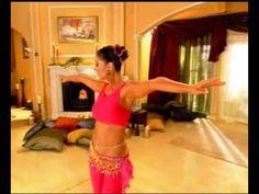 belly dancing basic steps - YouTube