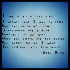 Change of Time - Josh Ritter