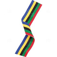 olympic themed medal ribbon