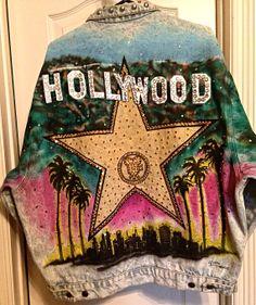 Vintage Tony Alamo Hollywood Jean Jacket by JazzyJanices on Etsy, $650.00