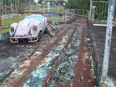 Derelict amusement park