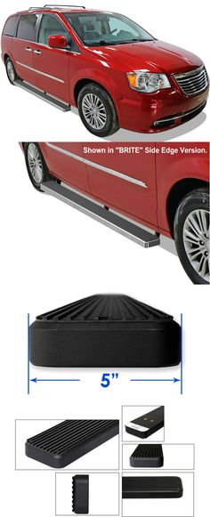 Dodge Grand Caravan Running Boards; Check out our low cost aluminum running boards.