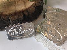 12 Mi Bautizo Embossed Tin Silver Sign Tags Party Favors Centerpieces Foil  | eBay Baptism Favors, Party Favors, Tin, Champagne, Centerpieces, Silver, Muscle, Scrapbooking, Decorations