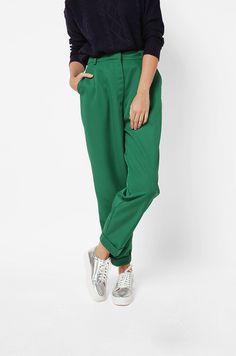 Long Pants Green Haima | COTTONINK