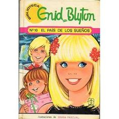 Ilustración para portada de libro de Enid Blyton, por María Pascual
