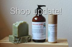 Hi Everyone! I'm going to be selling out of some of my products and focusing on my better selling products for awhile. I'll only have Magnesium Body Butter, Deodorant, Lip Balm, and soap from now on! This means once the current stock of the other items on the website are gone, they're gone! If you're ever in need of a recommendation for lotions/etc. or would like to special order a body butter, lotion or something else you've purchased and loved, please let contact me! Thank you for all your…
