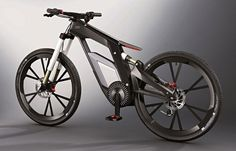 Audi e-bike uses a smartphone for its electronic control system | Ubergizmo