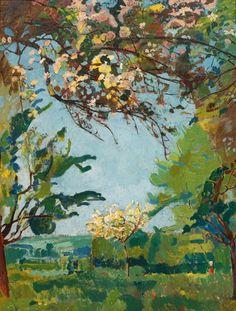 Cuno Amiet - Blütenzeit (1926)