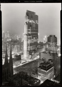 Rockefeller Center, New York, 1933.