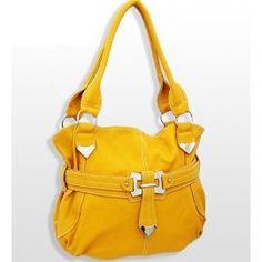 Trendy Fashion Handbag in Mustard