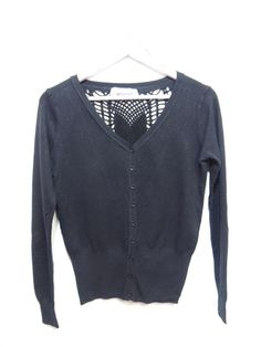 Saquito de lana, fino, con espalda calada, para lucirte! #bohemias #moda #estilo #tendencia #fashion fb/bohemias.arg instagram/bohemias_moda
