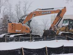 Case CX225SR minimum range hydraulic excavator