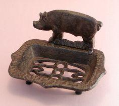 Piggy Metal Soap Dish Pig Kitchen, Kitchen Stuff, Pig Stuff, This Little Piggy, Piglets, Cowboys, Pugs, Funny Things, Corgi