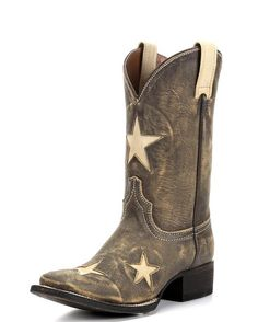 American Rebel Boot Company Women's Colt Ford Seeing Stars Boot - Vintage Honey