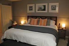Image of: What Colors Go with Grey Bedroom