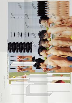 How Long Is Now? Graphic Design Posters, Typography Design, Sketch Design, Design Art, Circus Art, Photo Layouts, Philippe, Grafik Design, Magazine Design