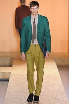 Paul Smith Fall 2013 Menswear Collection Slideshow on Style.com