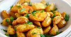 Garlic Roasted Potatoes | eBay