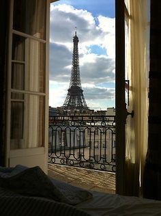 1k photography pretty room eiffel tower paris travel france n europe Window buildings morning balcony