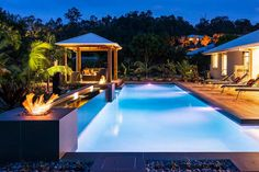 Tropical Paradise: 25 Spectacular Tropical Pool Landscaping Ideas, http://photovide.com/tropical-pool-landscaping-ideas/  Check more at http://photovide.com/tropical-pool-landscaping-ideas/