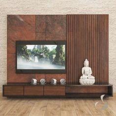 Modern Tv Cabinet, Tv Cabinet Design, Tv Wall Design, Living Tv, Living Room Wall Units, Living Room Tv Unit Designs, Bedroom Tv Unit Design, Tv Unit Bedroom, Living Room Partition Design