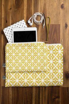 Heather Dutton Diamante Gold Pouch | DENY Designs Home Accessories