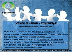 UMEN - União da Mocidade Espírita de Niterói Apresenta - Semana da Família - Niterói - RJ - http://www.agendaespiritabrasil.com.br/2016/05/09/umen-uniao-da-mocidade-espirita-de-niteroi-apresenta-semana-da-familia-niteroi-rj/
