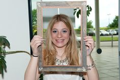 A young person from Bedfordshire Council in the frame for Frame, Picture Frame, Frames, Hoop, Picture Frames