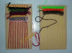 "'Wonderful World of Weaving' - different ideas ("",)"