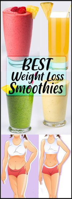 Best Weight Loss Smoothie Recipes Ever - Stylesalert Are you looking for weight loss drinks? Maybe you want to know how to make weight loss smoothies? Check these delicious, easy-to-make healthy smoothies recipes for rapid weight loss. Weight Loss Meals, Weight Loss Smoothie Recipes, Quick Weight Loss Tips, Weight Loss Drinks, Weight Loss Program, How To Lose Weight Fast, Weight Gain, Losing Weight, Diet Recipes