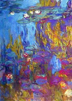 Water-Lilies -1917 - Claude Monet
