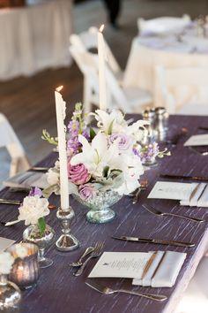 Romantic & Elegant Lavender Wedding