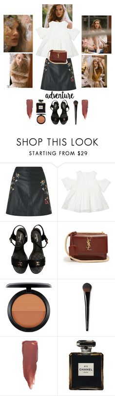 """""""Spring"""" by anne03 ❤ liked on Polyvore featuring Miss Selfridge, Chloé, Chanel, Yves Saint Laurent, MAC Cosmetics, Laura Mercier, Bobbi Brown Cosmetics, Spring, love and fashionable"""