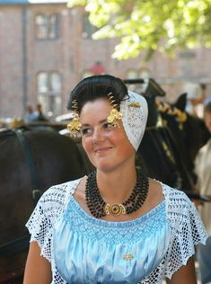 Zeeuwse klederdracht (Zealand traditional dress), the Netherlands.