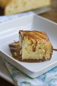 I can't wait to try this recipe, dulce de leche and 3 leches cake in one! Yum!
