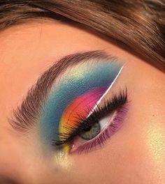 Beautiful Eye Makeup, Pretty Makeup, Love Makeup, Makeup Inspo, Makeup Inspiration, Fancy Makeup, Eye Makeup Art, Eyeshadow Makeup, Beauty Makeup