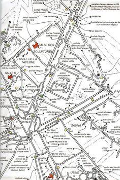 Map of what Lies Below Paris