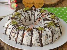 Bisküvili Parfe Resimli Tarifi - Yemek Tarifleri Sweets Recipes, Cake Recipes, Food Illustrations, Food Preparation, Deserts, Muffin, Food And Drink, Yummy Food, Yummy Yummy