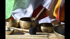 Meditation and relaxation with singing bowls The tone for the higher heart chakra is F# and singing bowls are all attuned to specific musical notes. This higher heart chakra meditation with singing. Healing Heart, Sound Healing, Chakra Healing, Singing Bowl Meditation, Meditation Music, Meditation Youtube, Meditation Sounds, Chakra Meditation, Tibetan Bowls
