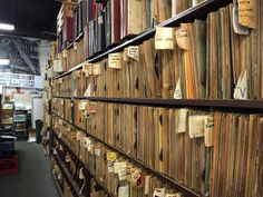 Jazz Record Mart - Chicago July 2015 - the 78rpm shelves
