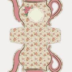 Teekanne - kostenlose Bastelvorlagen-dekoking-com-4