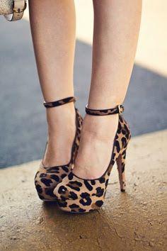 Leopard Stilettos