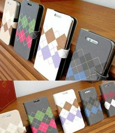 [HAPPY MORI] ARGYLE SWEATER Phone Case for Galaxy s3,s4,note1,2/iPhone4,4s,5,5s